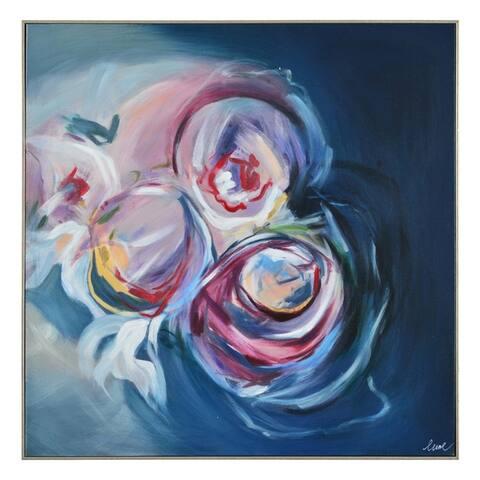 Renwil Delfini Square Canvas Painting