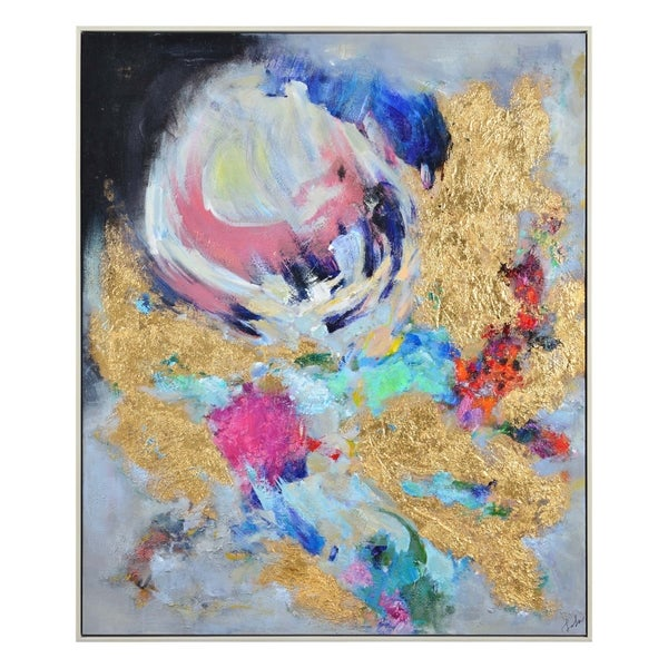Renwil Lita Rectangular Canvas Painting
