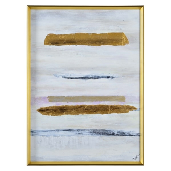 Renwil Quill Rectangular Canvas Painting