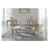 Verickam Traditional 3-Piece Table Set