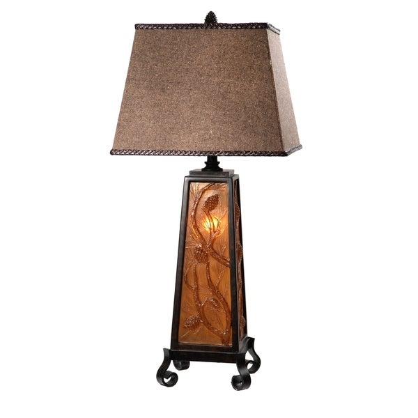 Resin Autumn's Light 35.5-inch Table Lamp