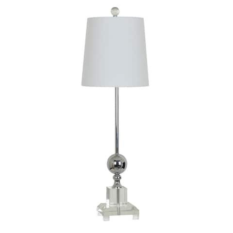 Sona Polished Nickel 28-inch Buffet Lamp