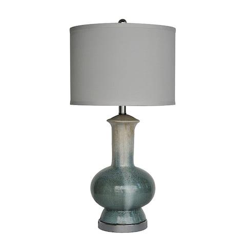 Sea Breeze Cream 28-inch Table Lamp