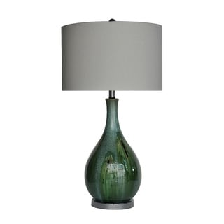 Link to Sea Scape Taupe 30-inch Table Lamp Similar Items in Table Lamps