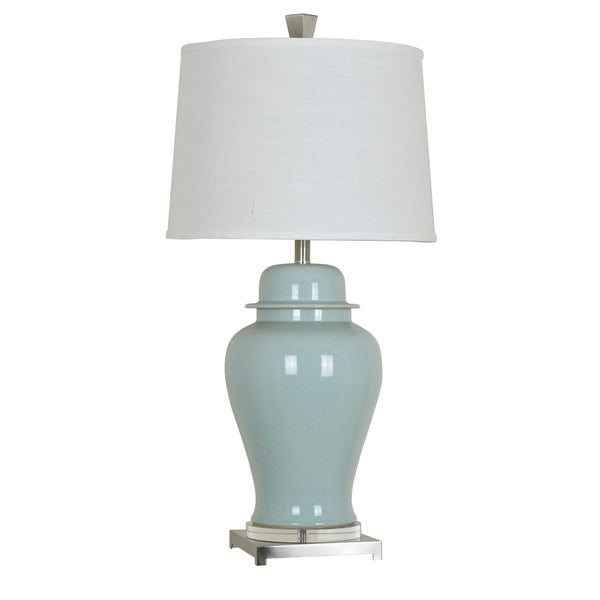 Nico Soft Blue 34-inch Table Lamp
