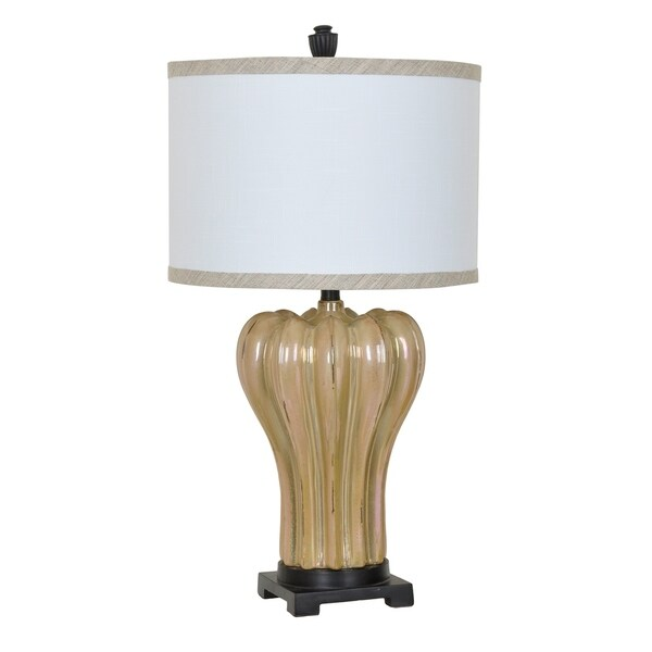 Rucci Caramel Pearl 30-inch Table Lamp