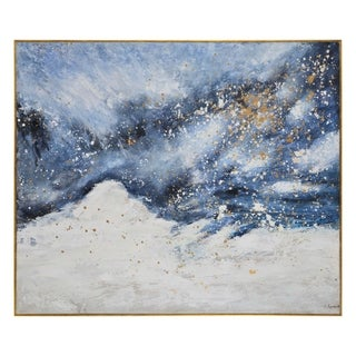 Renwil Celestial Rectangular Canvas Painting
