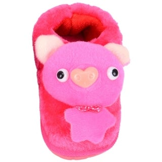 Kids Indoor Slipper Shoes - Animal - Pig