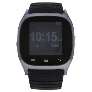 EK-B3 Montre Connectee Black Silicone Strap Smart Watch
