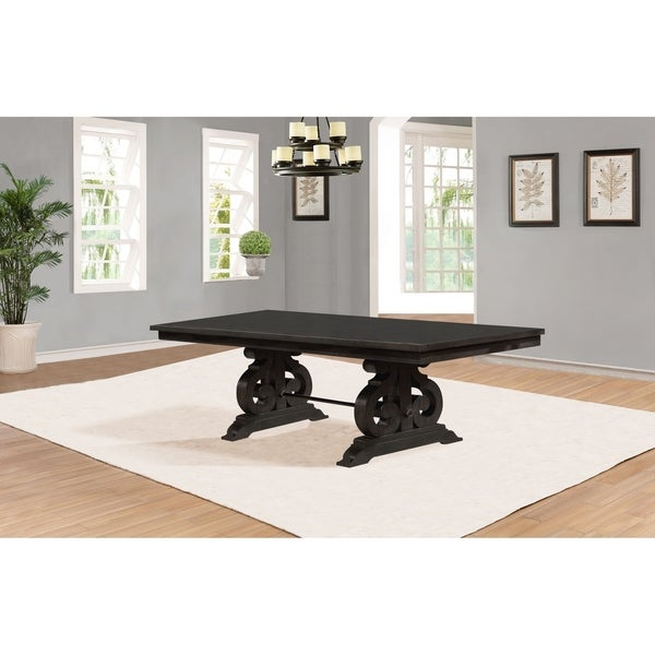 Best Quality Dining Room Furniture: Shop Best Quality Furniture Rustic Cappuccino Extension