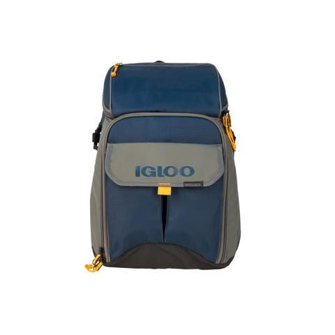 Igloo Gizmo Outdoorsman Backpack, Slate Blue/Tan