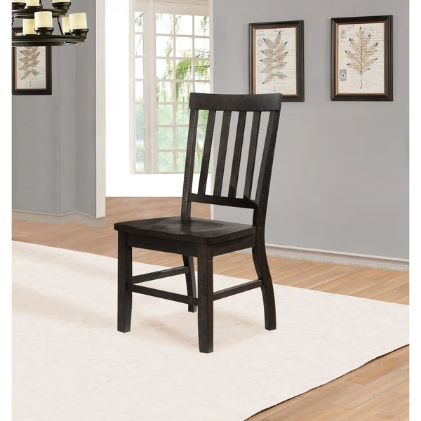 Quality Dining Furniture: Shop Best Quality Furniture Rustic Cappuccino Dining Chair