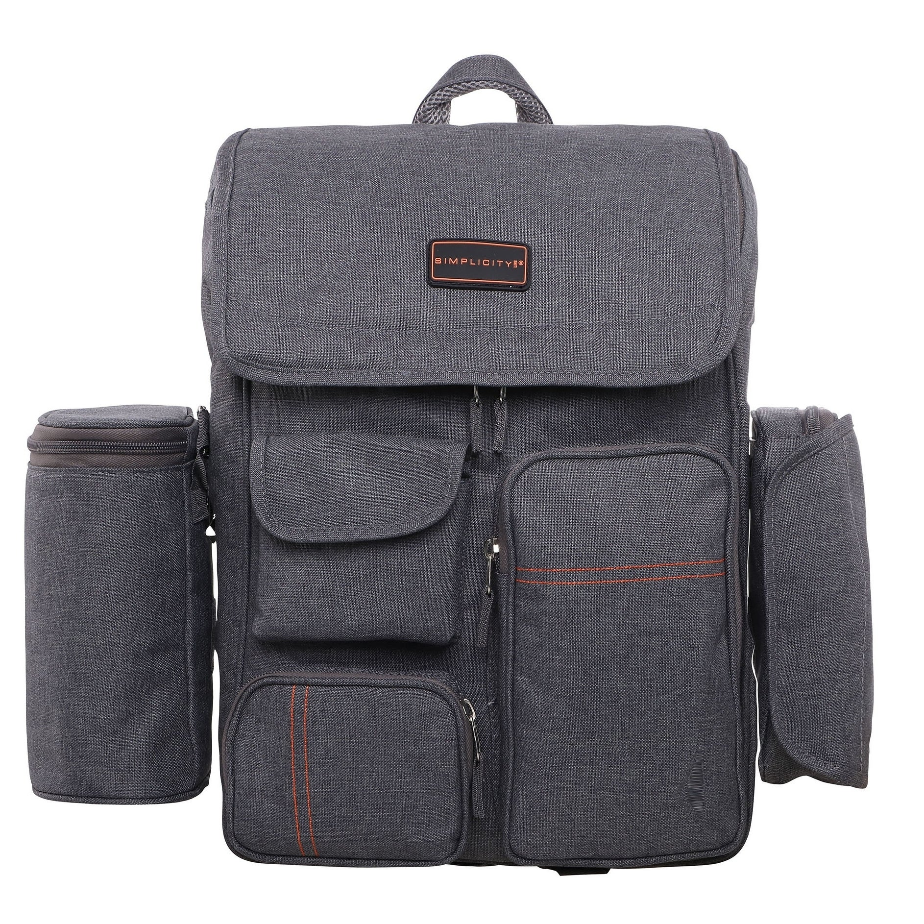Multi Function Travel Diaper Bag Backpack Ny Bags W Stroller Straps Changing Pad