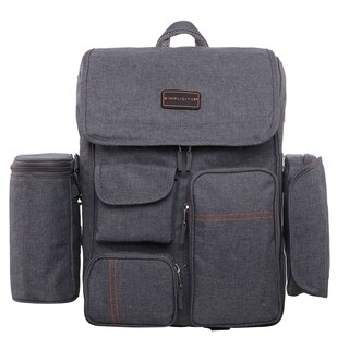Multi-Function Travel Diaper Bag/Backpack Nappy Bags W/Stroller Straps Changing Pad