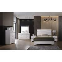 Acme Adair 6-Drawer Dresser with Hidden Jewelry Drawer in White