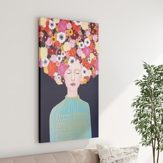 The Curated Nomad 'Celeste' Canvas Art