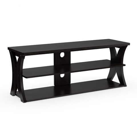 Porch & Den Victoria Park Lido Brown Modern TV Stand