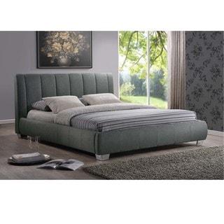 Strick & Bolton Tacita Grey Queen-size Platform Bed