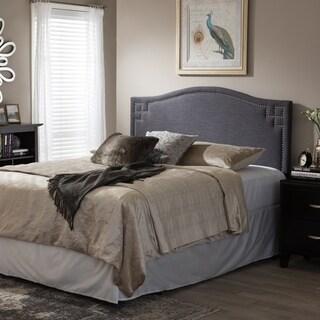 Laurel Creek Payton Modern Fabric Upholstered Headboard