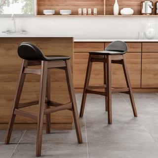 Carson Carrington Nacka Mid-century Modern 30-inch Barstool (Set of 2)