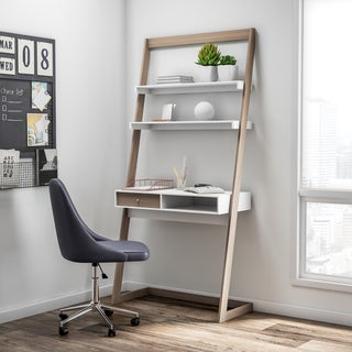 Carson Carrington Jarbo Two-tone Lean Desk