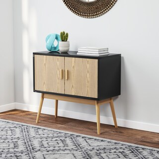 Carson Carrington Odda Wood/ White Storage Console (4 options available)