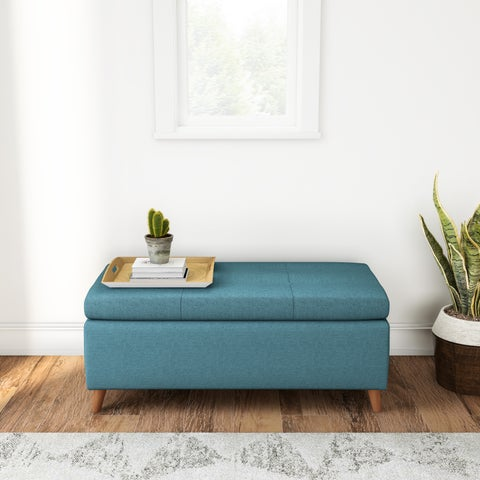 Carson Carrington Umea Mid-century Storage Ottoman Bench