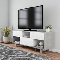 Carson Carrington Rovaniemi Natural Wood 60-inch TV Stand