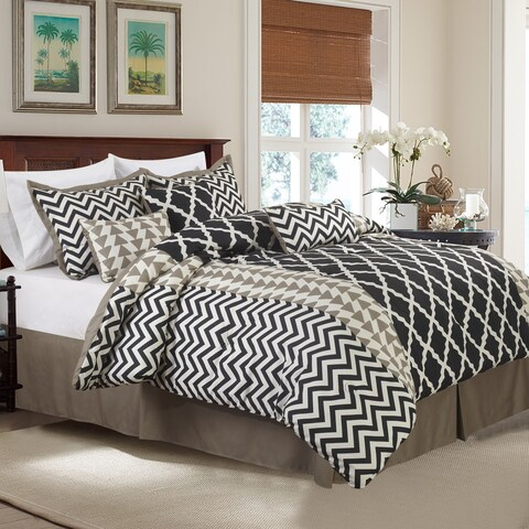 Carson Carrington Verdalsora 7-piece Reversible Comforter Set