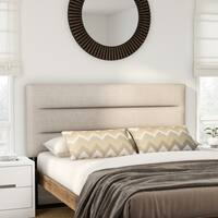 Hager Adjustable Full/ Queen Fabric Headboard by Christopher Knight Home