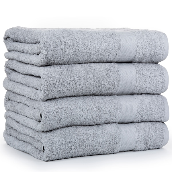 Economic Collection Cotton Soft Oversized Bath sheets (4 Pack)