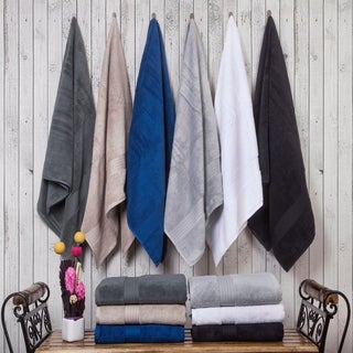 Casa Platino 100% Cotton Zero Twist Bath Towels-4 Pack
