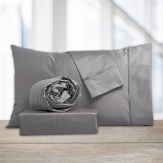 Purity Home 1000 TC Egyptian Cotton Sateen Sheets With Pillowcase