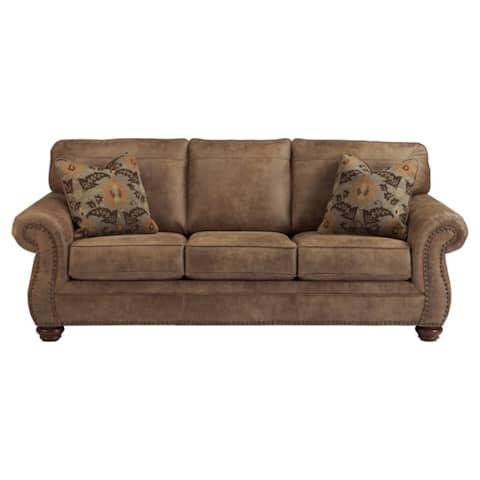 Larkinhurst Traditional Brown Sofa
