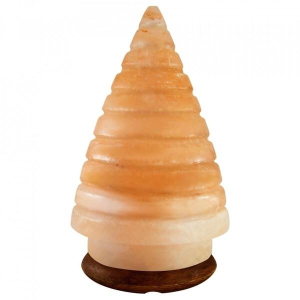 Himalayan Crystal Pink Salt Lamp Christmas Tree Shape Table Lamp