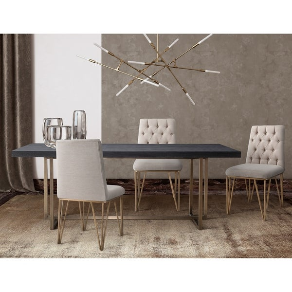 Shop Mason Dining Table With Lexi Dining Chairs Free