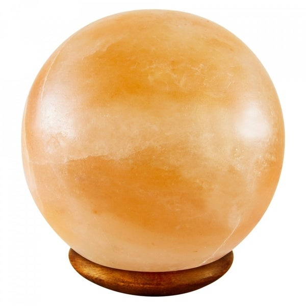 Himalayan Crystal Pink Salt Lamp Decorative Ball Shape Table Lamp