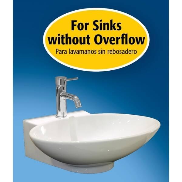 Keeney K820 76brz Universal Push On Bathroom Sink