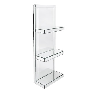 Mirrored Shelf with 3 shelves - N - N/A