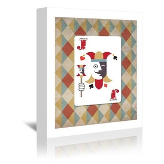 Americanflat 'Joker Poster' Gallery Wrapped Canvas