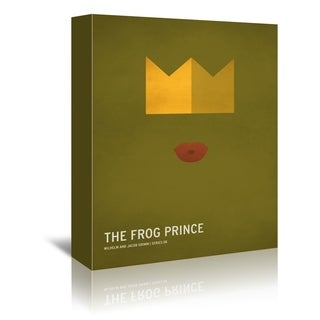 Americanflat 'Frog Prince' Gallery Wrapped Canvas