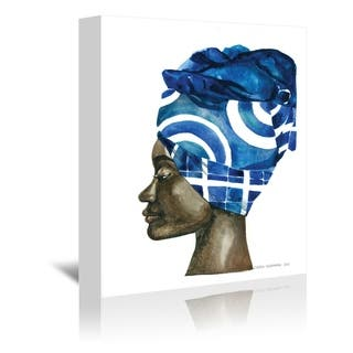 Americanflat 'African Pride 2' Gallery Wrapped Canvas