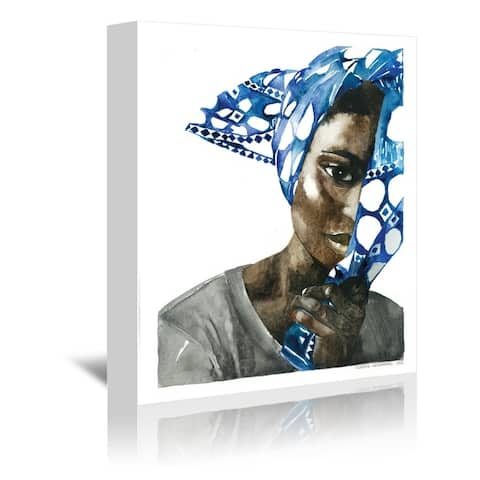 Americanflat 'African Pride 1' Gallery Wrapped Canvas