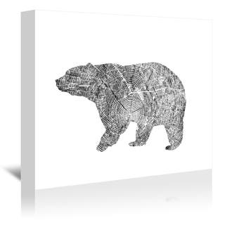 Americanflat 'Bear' Gallery Wrapped Canvas