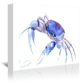 Americanflat 'Blue Crab 2' Gallery Wrapped Canvas (4 options available)