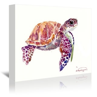 Americanflat 'Sea Turtle' Gallery Wrapped Canvas (4 options available)
