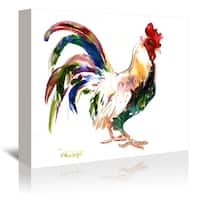 Americanflat 'Rooster' Gallery Wrapped Canvas