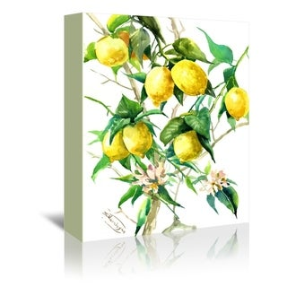 Americanflat 'Lemon Tree 3' Gallery Wrapped Canvas