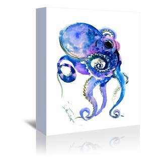Americanflat 'Octopus 1' Gallery Wrapped Canvas