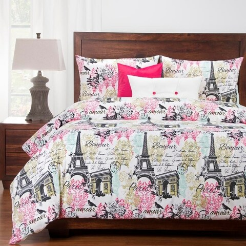 Siscovers Paris 6 Piece Luxury Cotton Duvet set